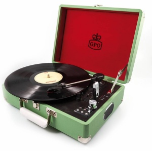 Gramovox Floating Record, GPO Attaché Record Player