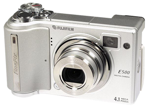 Fujifilm FinePix E500 in E510