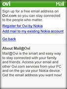 Mail on Ovi za lastnike telefonov