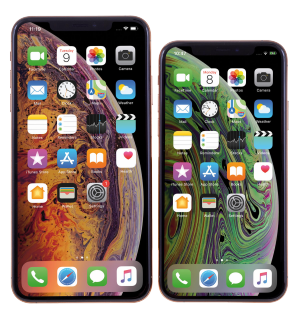Test iPhone XS in XS Max