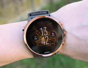 Test - Tudi Suunto z Google Wear