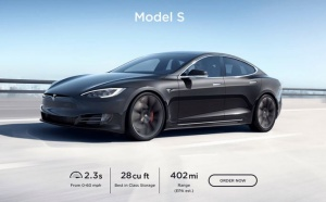 Tesla Model S s podaljšanim dometom do 650 kilometrov